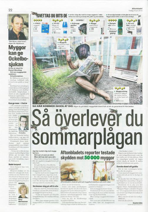 Bäst i Test Myggmedel Aftonbladet